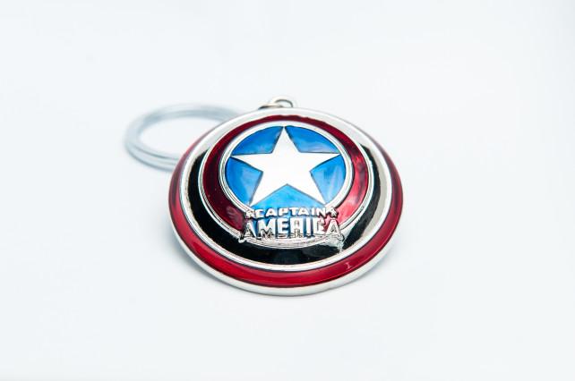 Captain America Keyring 2