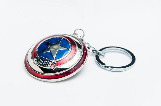 Captain America Keyring 3