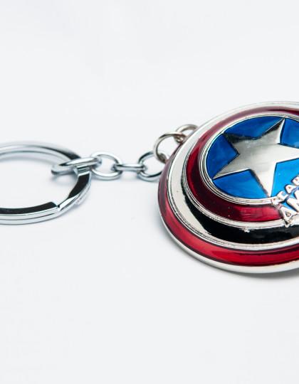 Captain America Keyring
