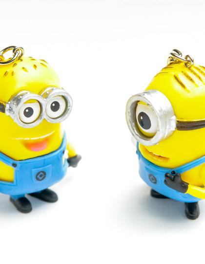 Despicable Me Minion Keyrings