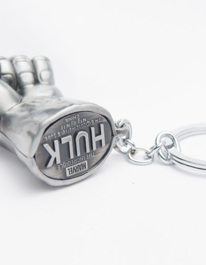 Incredible Hulk Smash Hand keyring