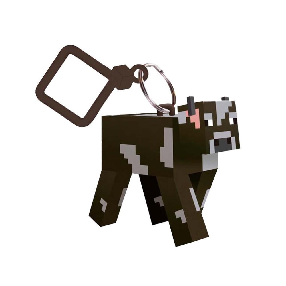 Minecraft Cow Keyring _