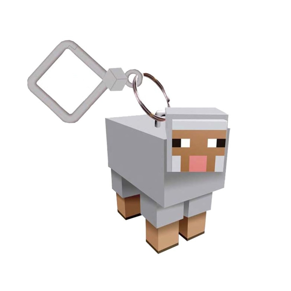 Minecraft Sheep Keyring _