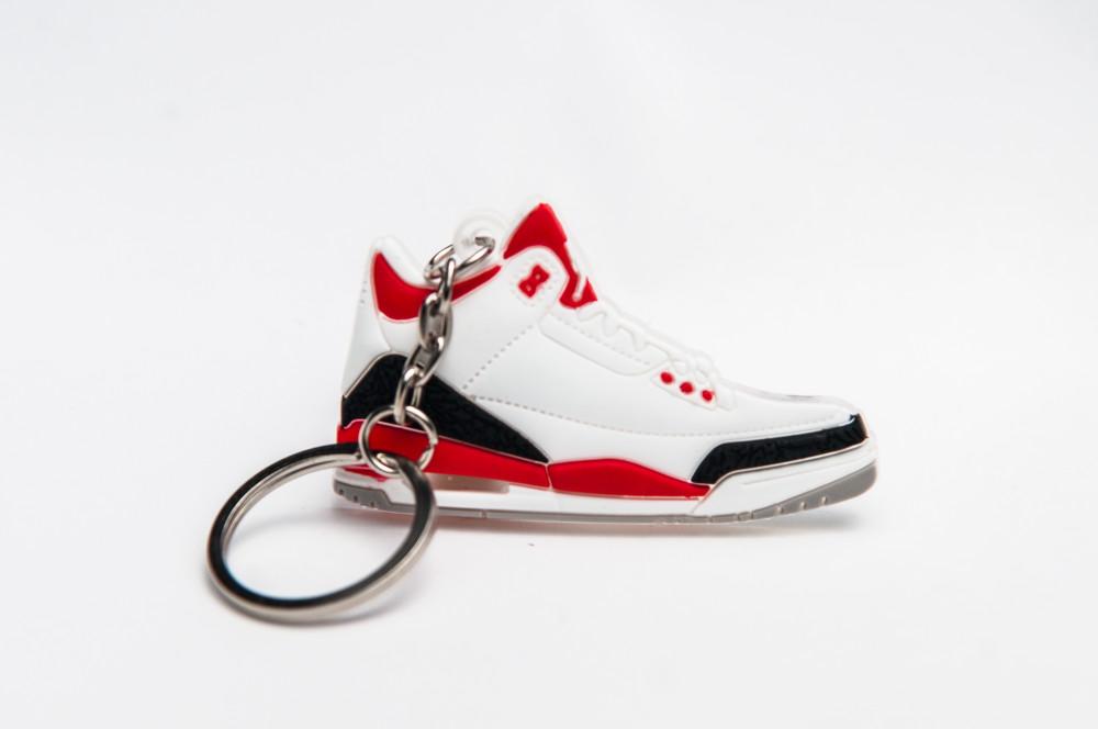 Nike Air Jordan 3 Retro White Black Red