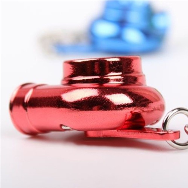 Spinning turbo keychain Red 2