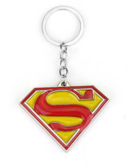 Superman Logo Keychain