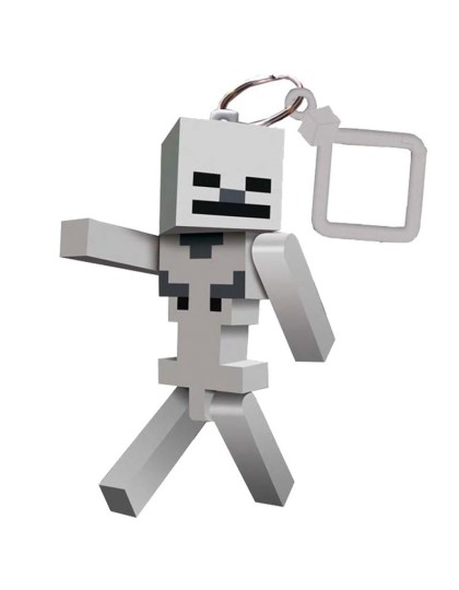 Minecraft Skeleton Keyring _