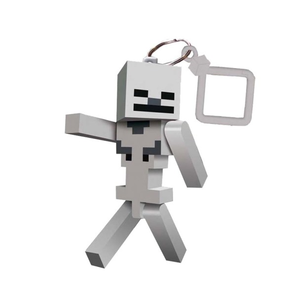 Minecraft Skeleton Keyring _