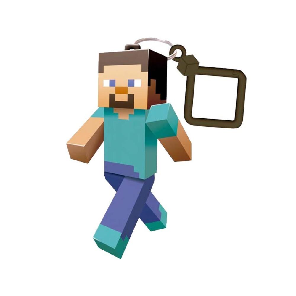 Minecraft Steve Keyring