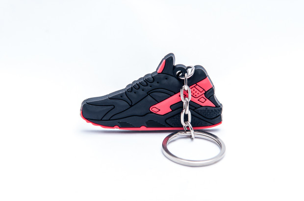 Nike Air Huarache Black Red