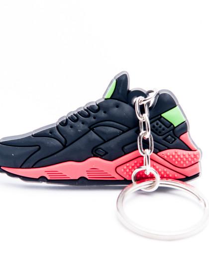 Nike Air Huarache Black Red Green