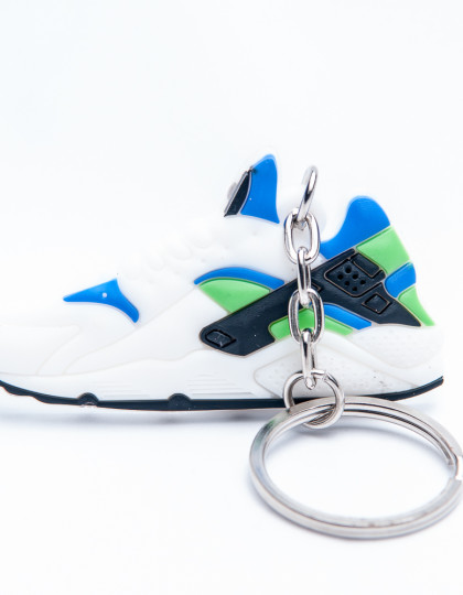 Nike Air Huarache White Blue Green