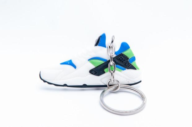 Nike Air Huarache White Blue Green