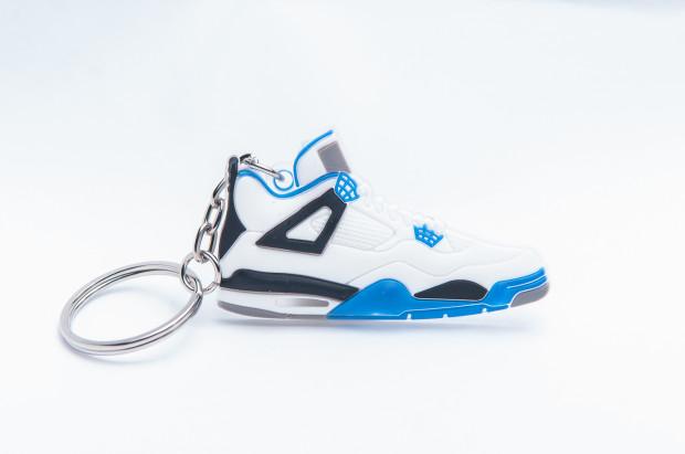 Nike Air Jordan 4 Retro White Blue