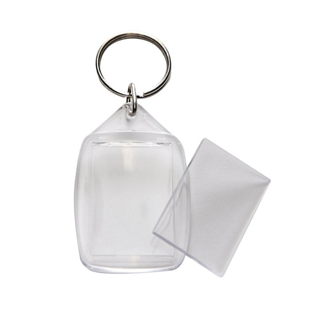 Blank Acrylic photo keyring 2
