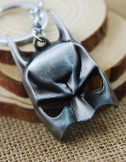 The-Avengers-Batman-Mask-The-Dark-Knight-Alloy-Metal-keychain-Keyring-Pendant-Jewels-For-Gift-Black