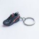3D Exclusive Black Red Retro Nike Air Huarache keyring trainers 3