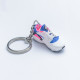3D Exclusive Blue Pink Retro Nike Air Huarache keyring trainers