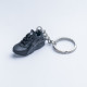 3D Exclusive Triple Black Retro Nike Air Huarache keyring trainers 3