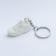 3D Exclusive Triple White Retro Nike Air Huarache keyring trainers 3