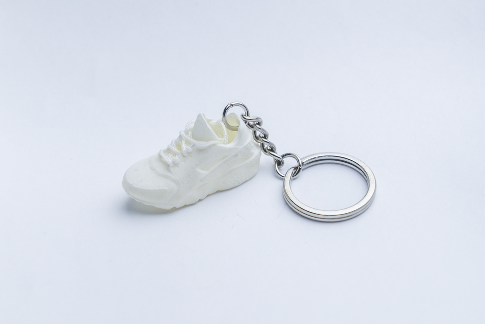 Keyringskool Huarache All Nike White Air Trainer 3d Kool Keyring T8PxUwxqE