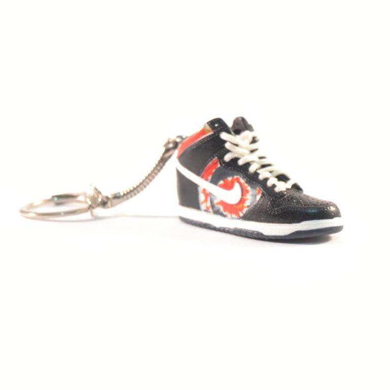 3D Nike Air Jordan 1 Black Red