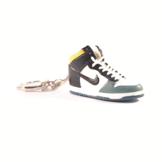 3D Nike Air Jordan 1 Black green yellow