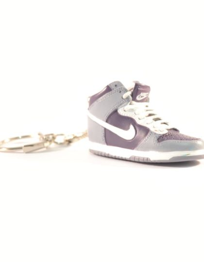 3D Nike Air Jordan 1 Grey
