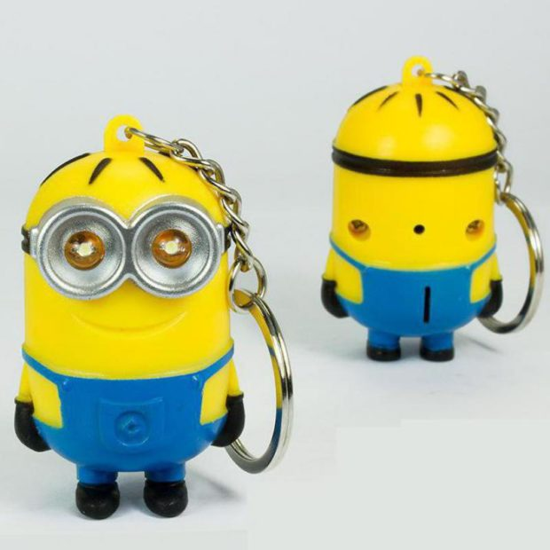 Despicable Me LED light Keyring