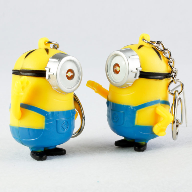Despicable Me pack of 2 LED light Keyring