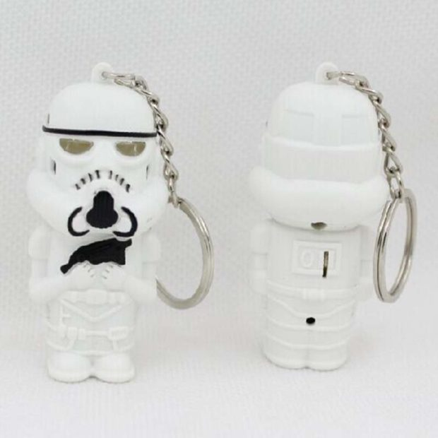 Star Wars Storm Troopers Keyrings