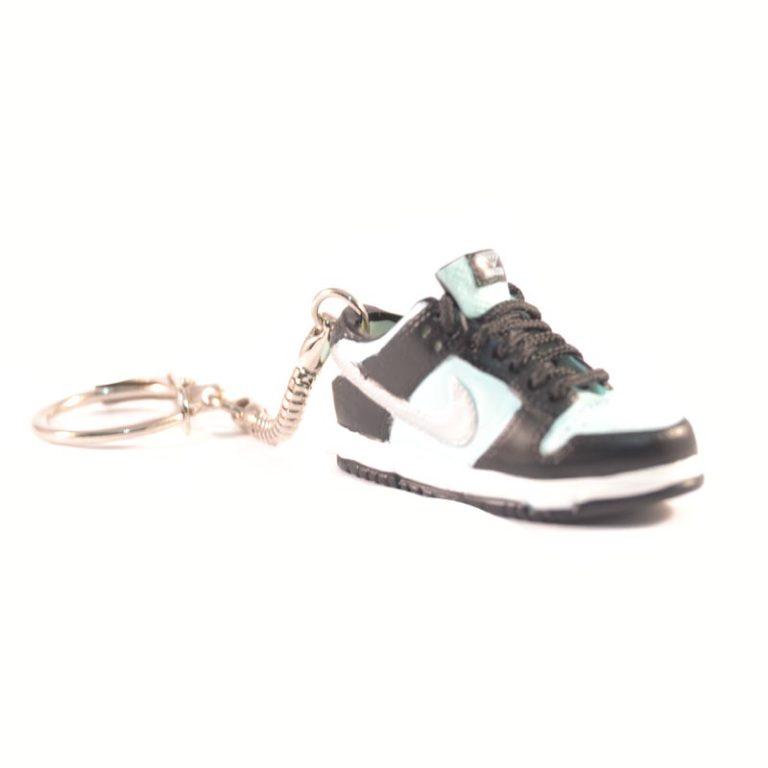 3D Nike Air Jordan 1 lo tops Black Blue