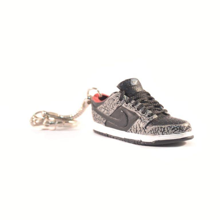 3D Nike Air Jordan 1 lo tops Black Grey