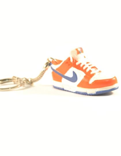 3D Nike Air Jordan 1 lo tops Orange Blue