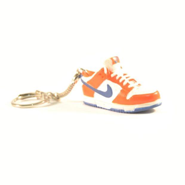 3D Nike Air Jordan 1 lo tops Orange Blue