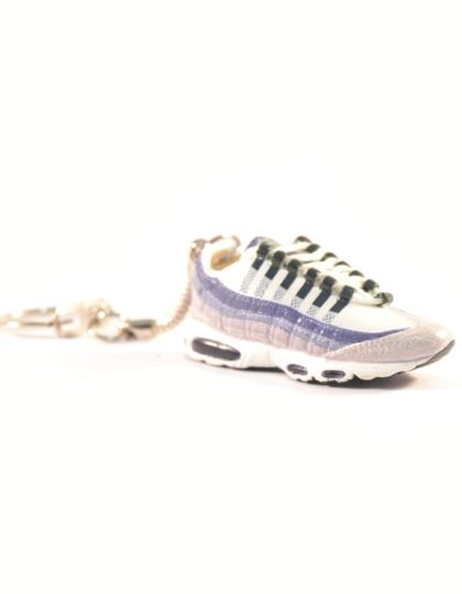 3D Nike Air Max 95 White Purple