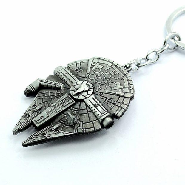 Star Wars Space Craft Metal Keyring