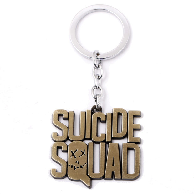 Suicide Squad keychain Gold