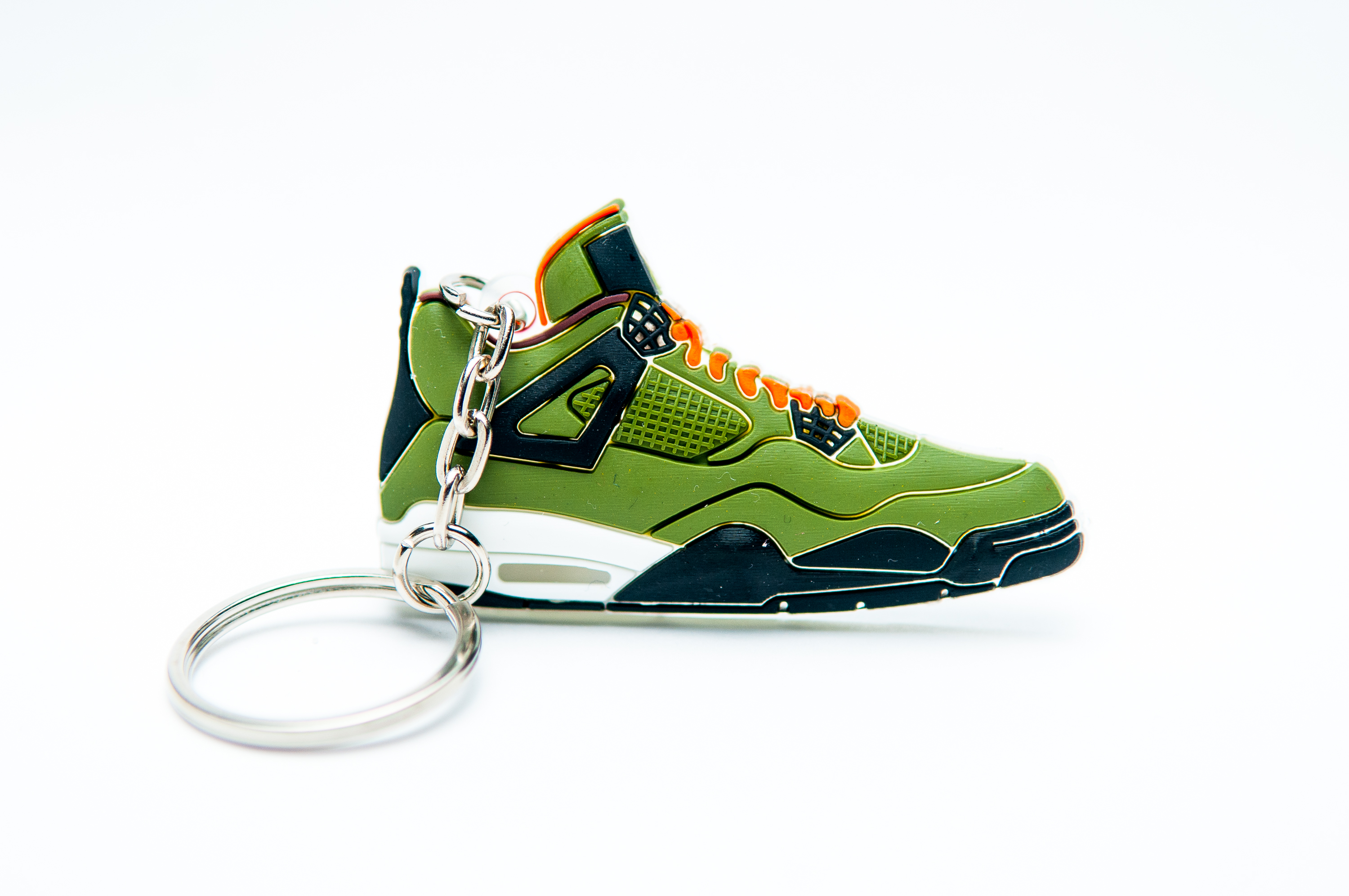 new arrivals ff8d3 768a2 Nike Air Jordan 4 Retro Green Black - Kool Keyrings