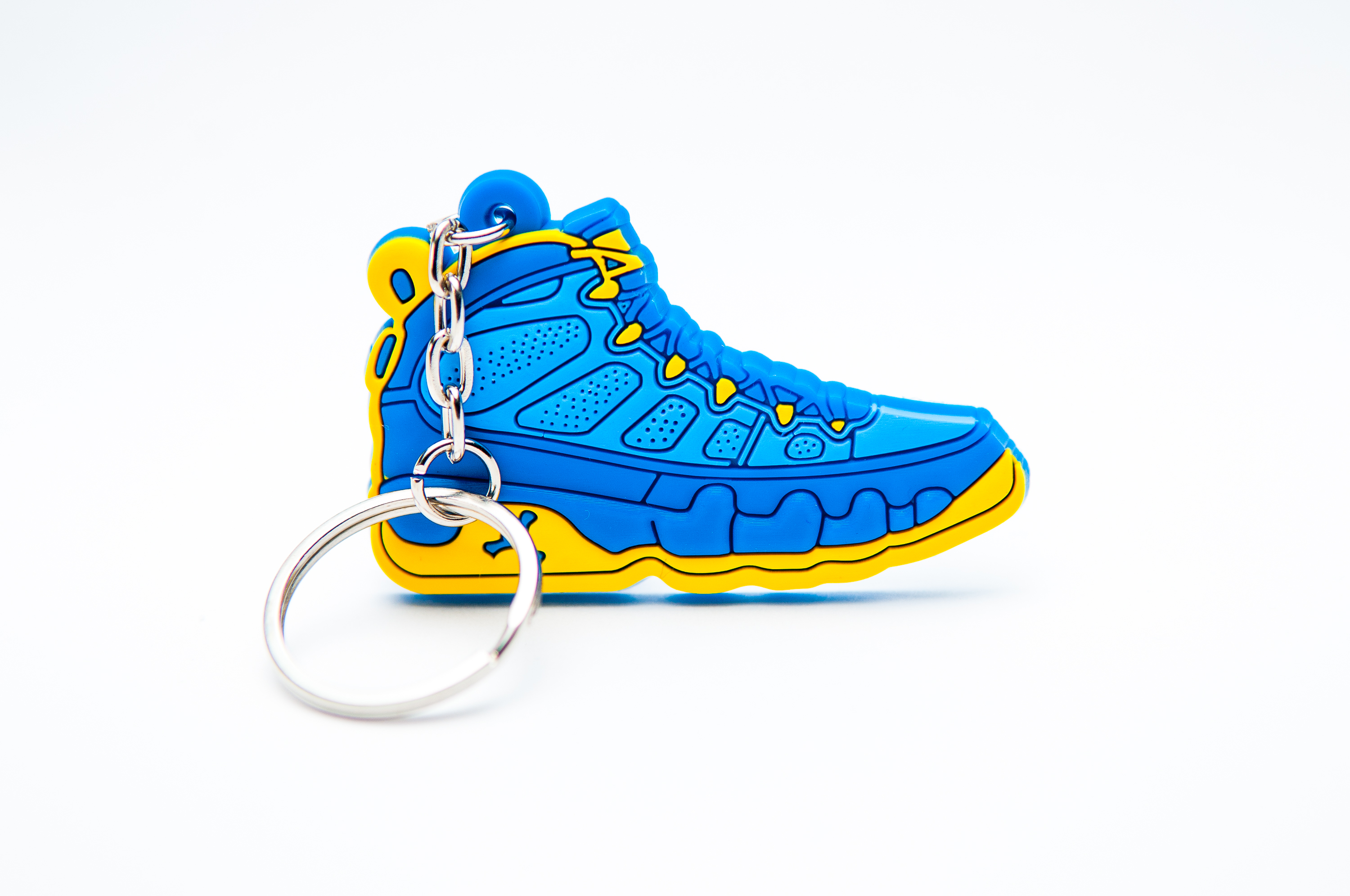 new arrival e9895 8faae Nike Air Jordan 9 Retro Blue Yellow - Kool Keyrings