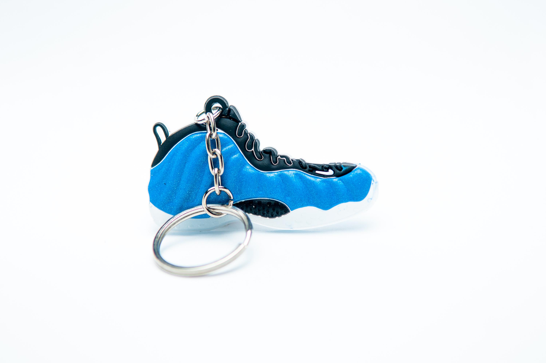 Nike Air Foamposite Blue Black - Kool KeyringsKool Keyrings
